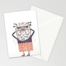 Dog odor Stationery Cards