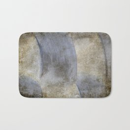 Abstract Weave Bath Mat