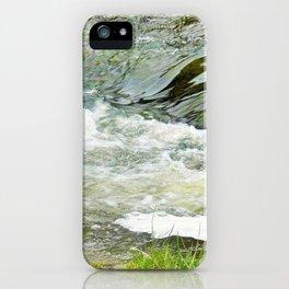 Stream, Hunua Falls, NZ iPhone Case