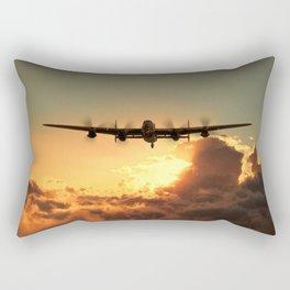 Cloud Rider Rectangular Pillow