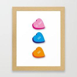 Lovely Lollies Framed Art Print
