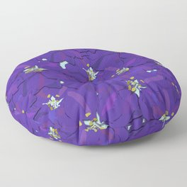 Larkspur Love Floor Pillow