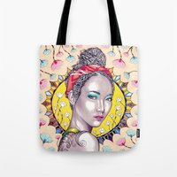 you are my sunshine Tote Bags featuring Sunshine by Peter Fulop