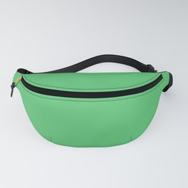 ZOMBIE GREEN pastel solid color Fanny Pack