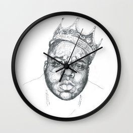 Notorious B.I.G. Wall Clock