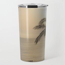 Tunisian African Beach Sunrise Travel Mug