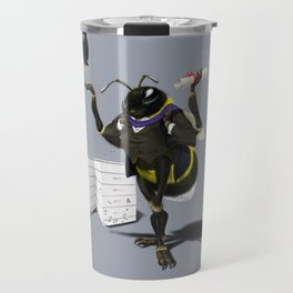 To Bee or Not Too Bee (Colour) Travel Mug