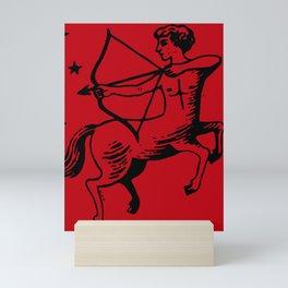 Sagittarius sign Mini Art Print