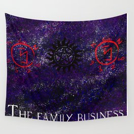Family business Wall Tapestry