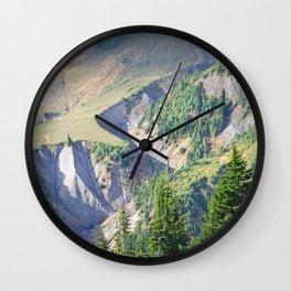 SWIFT CREEK HEADWATERS BELOW TABLE MOUNTAIN Wall Clock