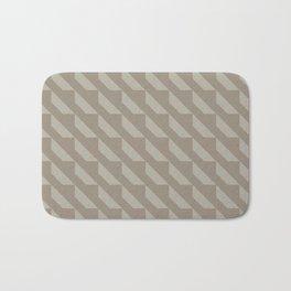 Modern Simple Geometric Pattern 4.10 Bath Mat