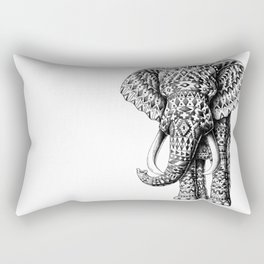 Tribal Elephant Rectangular Pillow