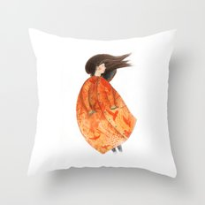 Favourite Coat Throw Pillow