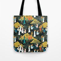 egypt Tote Bags featuring ancient Egypt by kociara