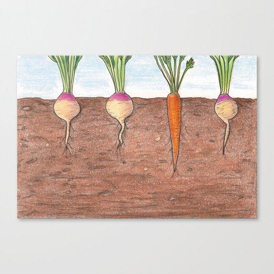 Subterranean Canvas Print