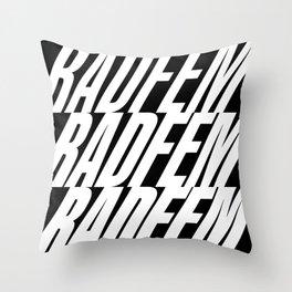 Radfem crescendo Throw Pillow