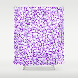 Gothic Crowd ULTRA VIOLET Shower Curtain