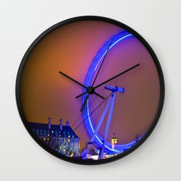 London Eye Lights Wall Clock