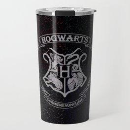Cosmic Hogwarts Crest HP Travel Mug