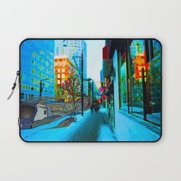City Street Laptop Sleeve