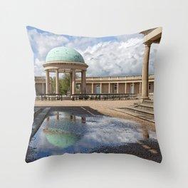 Eaton Park Bandstand, Norwich, Norfolk Throw Pillow