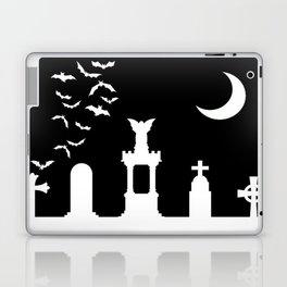 The Graveyard By Moonlight Laptop & iPad Skin