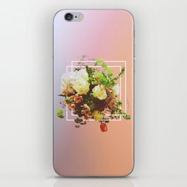 Cubic Bouquet iPhone Skin