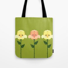 Kawaii Rose Friends  Tote Bag