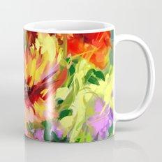 Red Flowers Mug