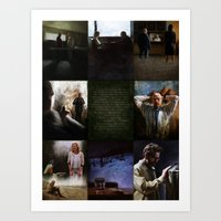 Breaking Bad Final 8 (Ozymandias version) Art Print
