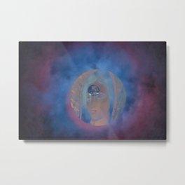 Illuminating Moon Eyes Metal Print