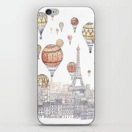 Voyages Over Paris ~ Refresh iPhone Skin