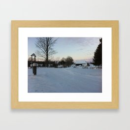 January 4, 2014 Framed Art Print