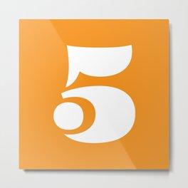 Eames 5 Metal Print
