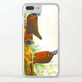 Blue-headed Pigeon Clear iPhone Case