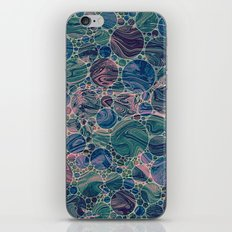 Marble Effect Dots 4 iPhone Skin