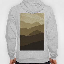 Abstract sun shines Hoody