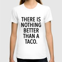 taco T-shirts featuring taco by ClicheZero