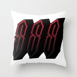 Tripple SSS Throw Pillow