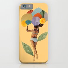 i walk out in the flowers and feel better iPhone 6 Slim Case