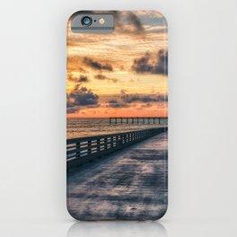 USA HDRI Nature Sky Coast Berth HDR Pier Marinas iPhone Case