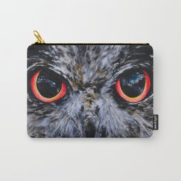 Sight: The Eyes of an Eagle Owl Carry-All Pouch