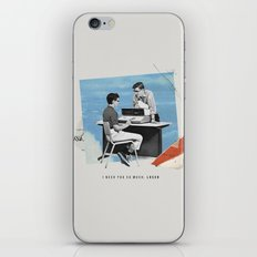 I Need You So Much loser iPhone & iPod Skin