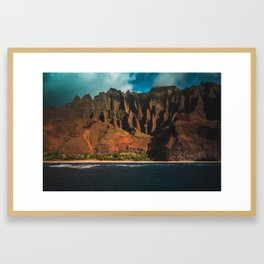 Kalalau Trail Framed Art Print