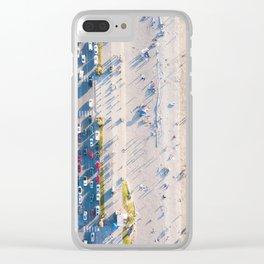 Alki Beach Clear iPhone Case