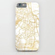 NEW DELHI INDIA CITY STREET MAP ART Slim Case iPhone 6s