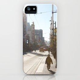 Granville Street iPhone Case