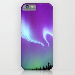 Aurora Synthwave #16 iPhone Case
