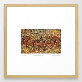 THE SWORDSMAN'S GURU Framed Art Print