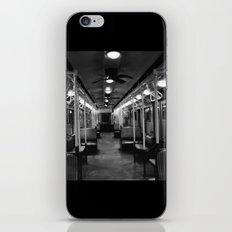New York Subway Car #2 iPhone & iPod Skin